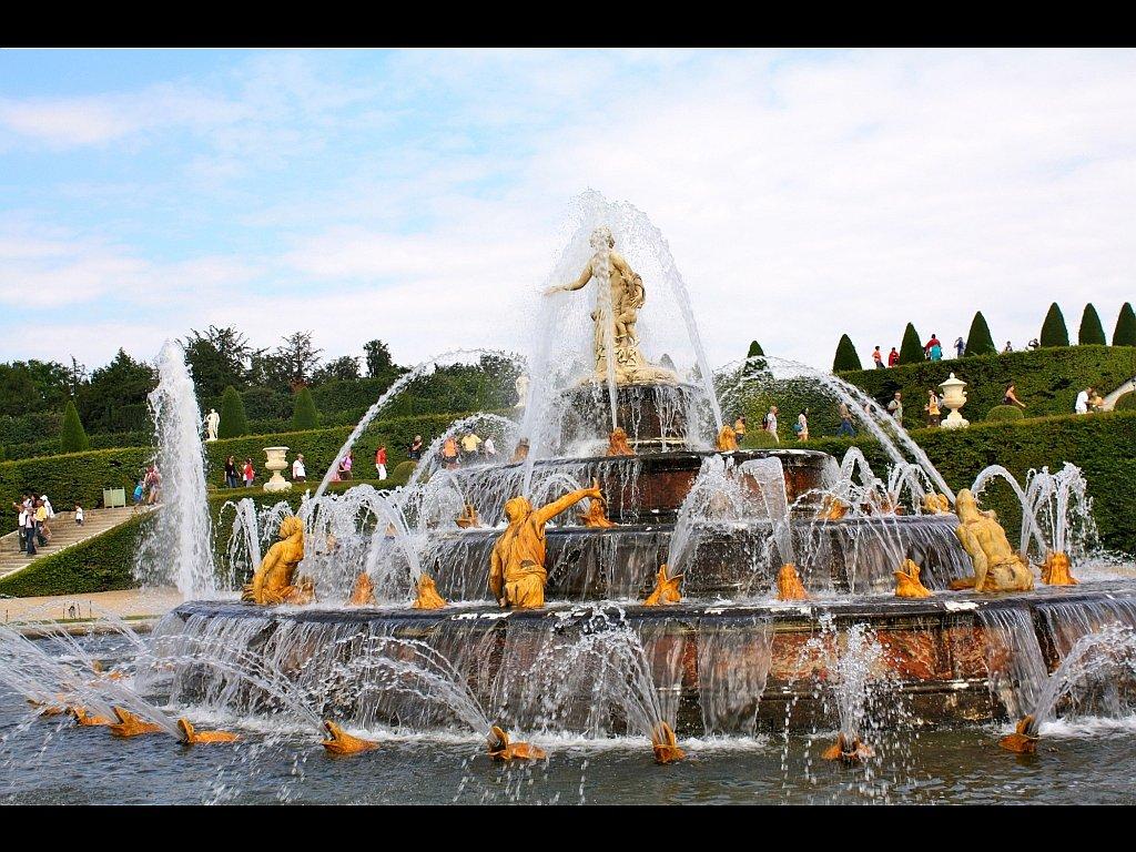 Ecran plus fontaine dans les jardins du ch teau de for Jardin de 78