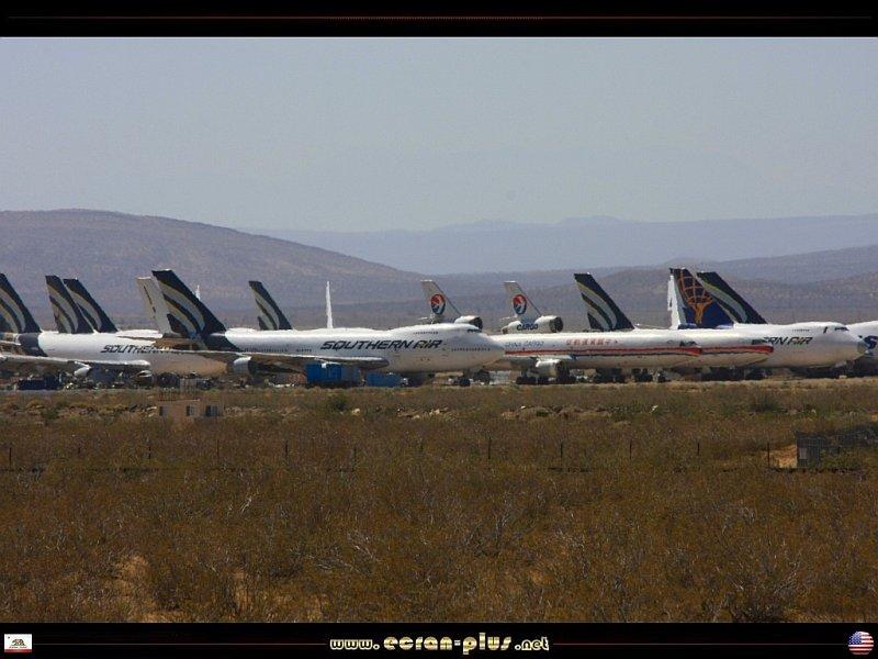 Cimetiere Avion Usa ecran + plus |__ le cimetière d'avions de mojave - californie - usa